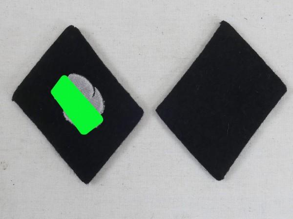 WSS Elite Totenkopf Division Paar Kragenspiegel
