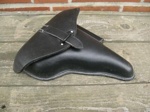 Wehrmacht P38 Holster Koffertasche Lederholster Pistolentasche schwarz