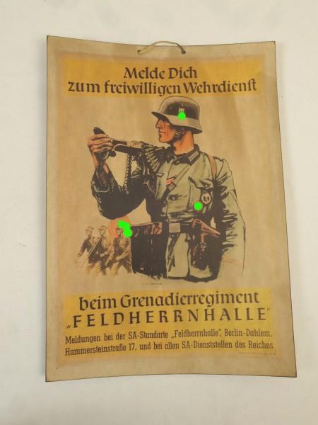 Bild Plakat Poster - Melde Dich zum freiwilligen Wehrdienst