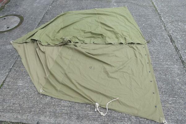 Original WW2 US Army Zelt - 2x Zeltbahnen shelterl tent shelter 1941/1942