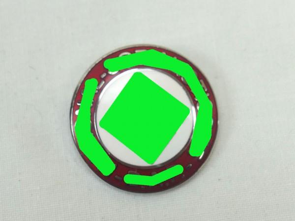 Parteiabzeichend Mitgliedsabzeichen der NS Partei an Nadel