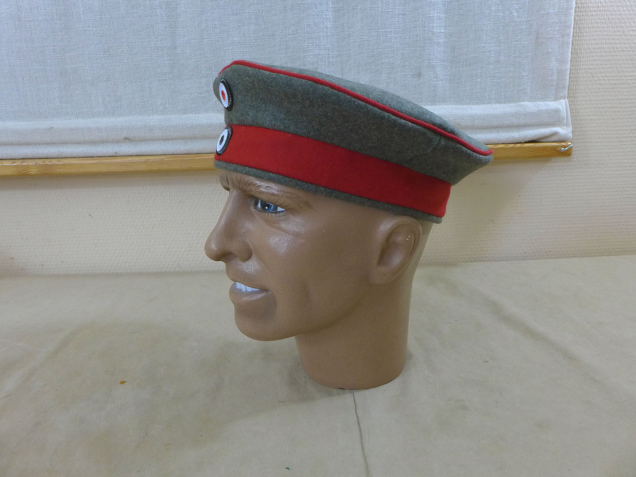58 Krätzchen Feldmütze M10 Uniformmütze Monarchie Kaiserreich Fieldcap Gr