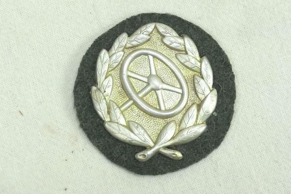 Wehrmacht Abzeichen Kraftfahrbewährungsabzeichen 2. Stufe Silber