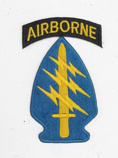 US WW2 Patch Airborne Division Special Forces