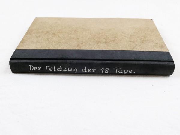 Buch - Der Feldzug der 18 Tage
