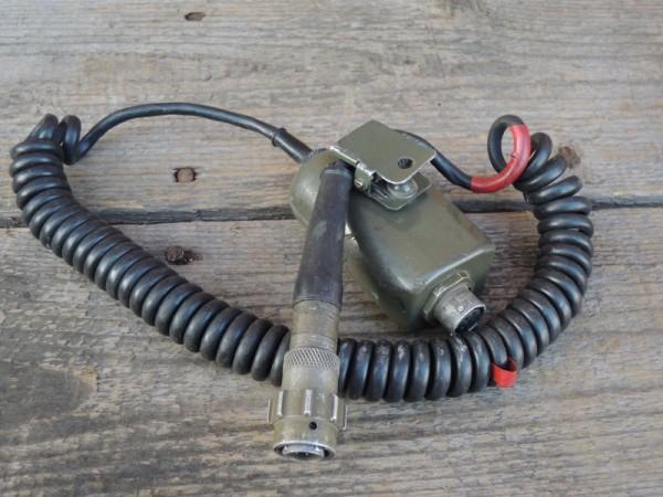 Sprechtaste Headset British Army Kopfhörer APC für Panzer #1