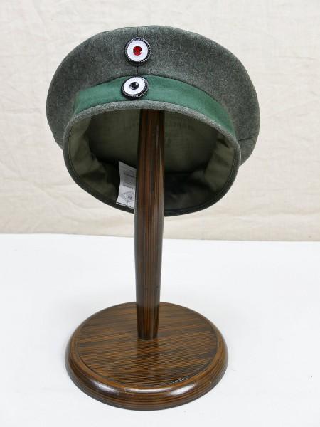 WK1 Preussen Einheits Feldmütze M1917 Krätzchen Robert Lubstein Jäger