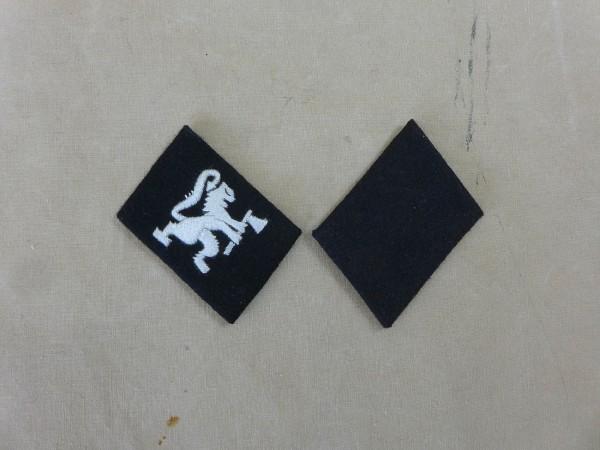 Kragenspiegel Waffen SS Freiwilligen Division Norwegen Mannschaften / Variante