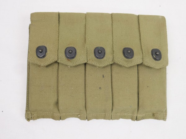 Original WW2 MP Thompson Magazintasche