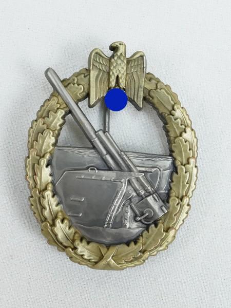 Kriegsmarine Kriegsabzeichen der Marine Artillerie