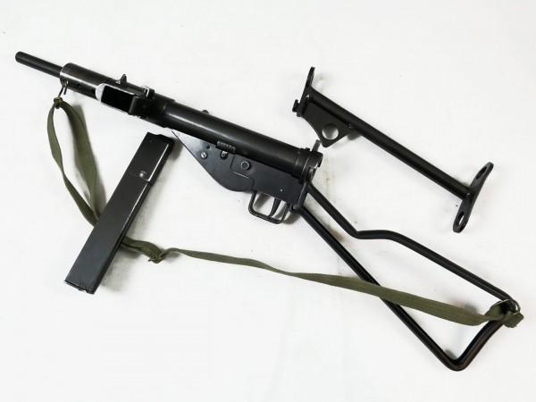 Sten MP MKII Maschinenpistole Deko Modell Filmwaffe mit 2 Schulterstützen Denix