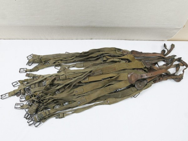 DAK Afrikakorps Y-Riemen Web Tropen Koppeltragegestell *stärker gebraucht*