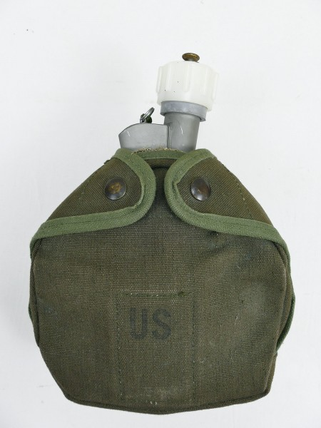 US ARMY Military Arctic canteen cover cup bottle Thermos Flasche Feldflasche