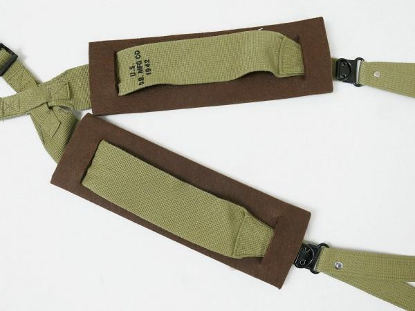 US ARMY WW2 Shoulder Pads Schulterpolster für Suspenders