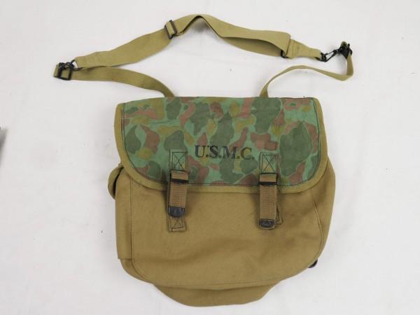USMC M1936 MUSETTE BAG Tasche Kampftasche duck hunter camo Custom Made