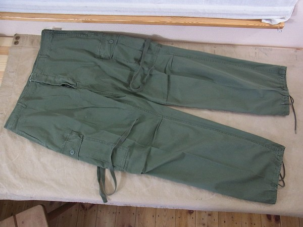 US Army Feldhose Jungle Pants M64 Vietnam oliv