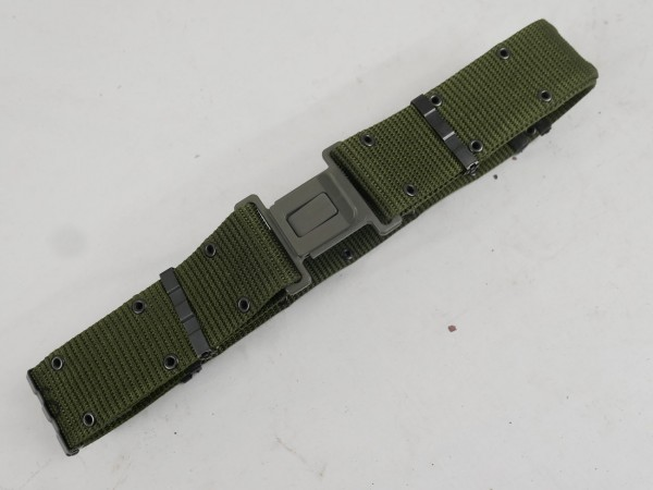 US Pistol Belt Individual Equipment OD LC2 Koppel 1985 Medium ALICE