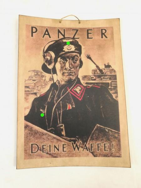 Bild Plakat Poster - PANZER DEINE WAFFE