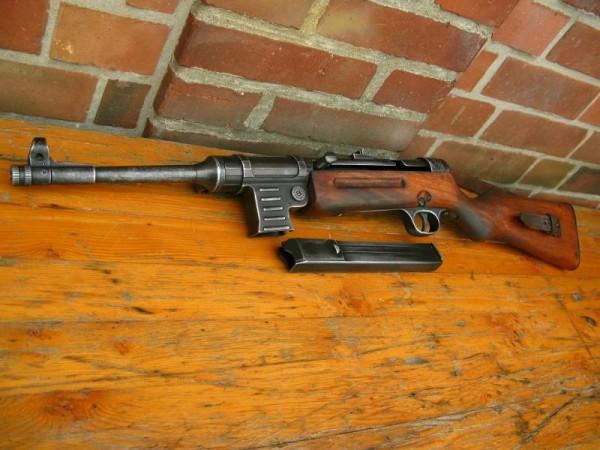 MP41 Maschinenpistole antik Deko Modell Filmwaffe