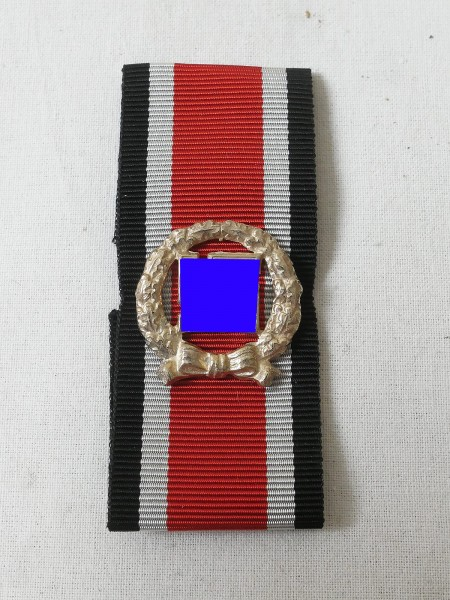 Wehrmacht Ehrenblattspange des Heeres auf Band