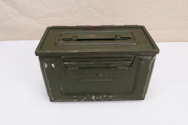 WW2 US Army Ammunition Box CAL. 50 M2 Munitionskiste Ammo Metallkiste original #1