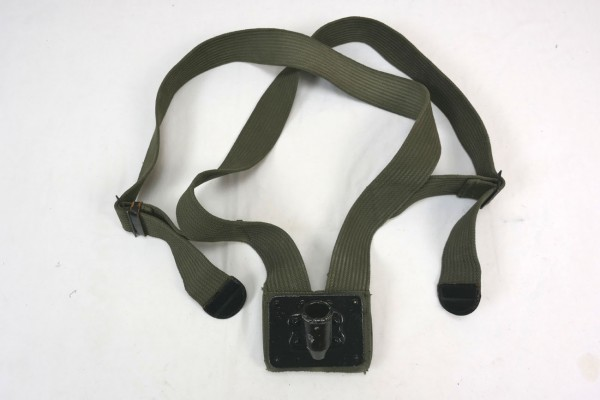 WWII Original US Army Flag Bearer Canvas Flag Pole Carry Belt Sling / Fahnen Tragegurt Fahnenträger