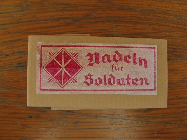 Verpackung Papierbriefchen für Nähnadeln