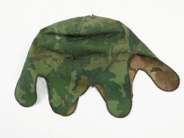 US Army Mitchell Helmet Cover Leaf Pattern Reverseable M1 Helmbezug Vietnam Camouflage