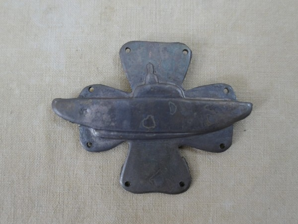 #08 Kriegsmarine Mützenabzeichen U-Flottille U-Boot Flottillen Abzeichen