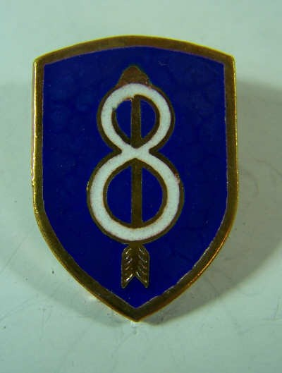 8th Div. Unit Crest