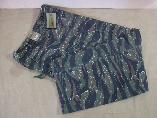 US Army Feldhose Jungle Pants M64 Vietnam Tiger Stripe