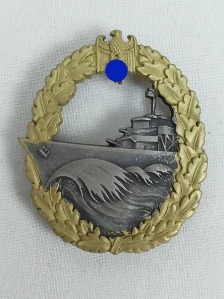 Kriegsmarine Zerstörer Kriegsabzeichen Marine