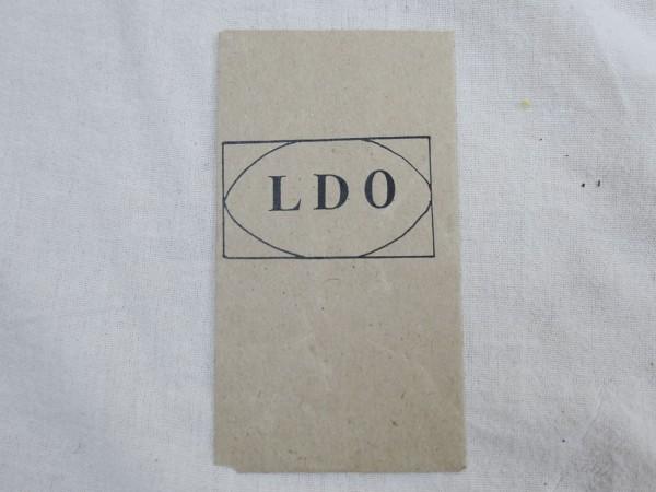 Wehrmacht Verleihungstüte LDO