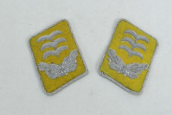 WW2 Luftwaffe Kragenspiegel Hauptmann LW Fallschirmjäger