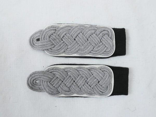 Paar Schulterklappen Waffen Elite Infanterie Major zum Einnähen Schulterstücke