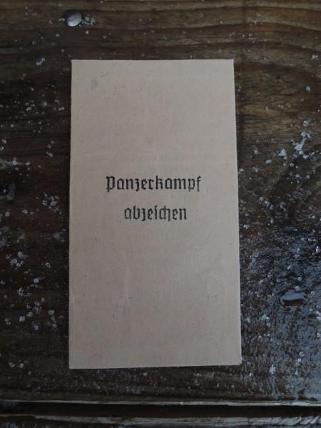 """Verpackung für Orden """"Panzerkampfabzeichen"""""""
