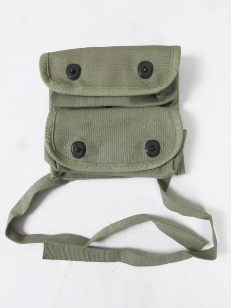 US ARMY WW2 Doppel Granatentasche Carrier grenade 2-pocket Tasche Granate