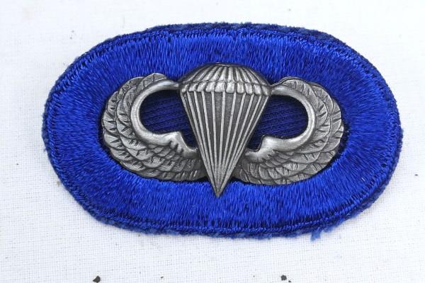 #12 US Airborne Jump Wing oval - Parachute badge Fallschirmjäger Abzeichen Springerabzeichen