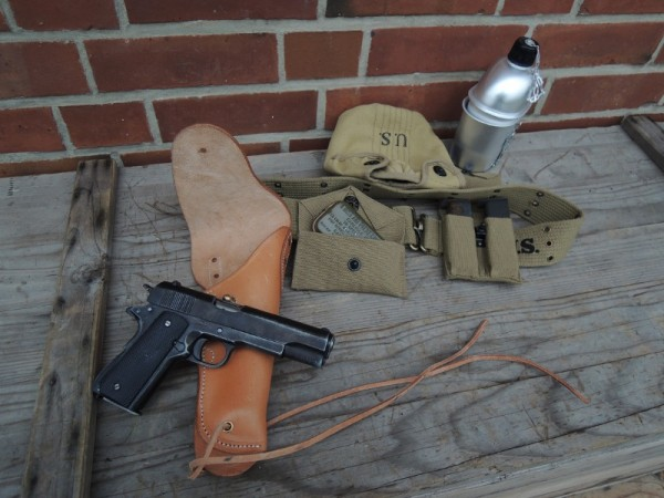 Koppelzeug US Pistol Belt -Set