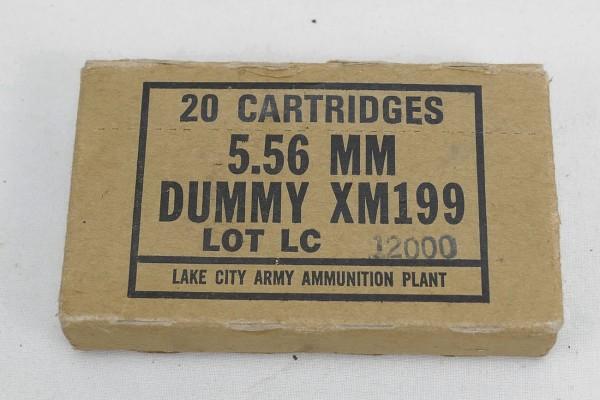 M16 Exerzier Dummy Patronen 5,56MM XM199 M16A1 / 20x Cartridges #2