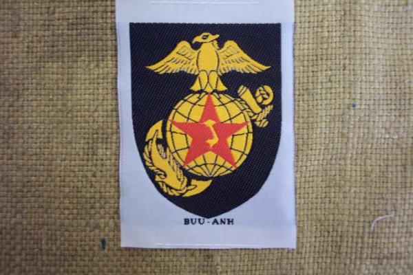 Abzeichen gewebt für Südvietnamesische Einheiten Marines