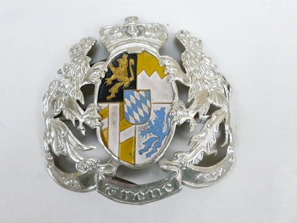 Zierrat für Helm Pickelhaube General Bayern Wappen Ersatzteil Emblem