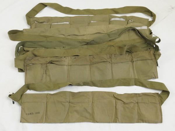 WW2 US Army M1 Garand Patronenbanduliere für 6x Munitionsclips 1943