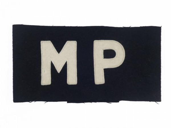US Army MP Armbinde Militär Polizei military police schwarz