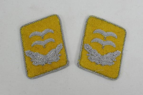 WW2 Luftwaffe Kragenspiegel Oberleutnant LW Fallschirmjäger