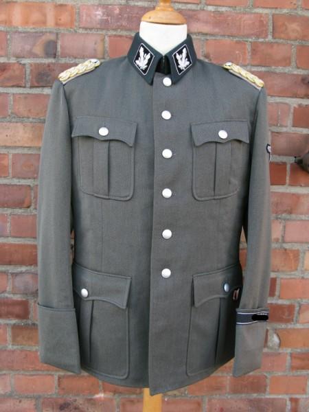 Gabardine Rock Beispiel für eine Elite Uniform nach Vorlage / Drehbuch / Filmrequisite
