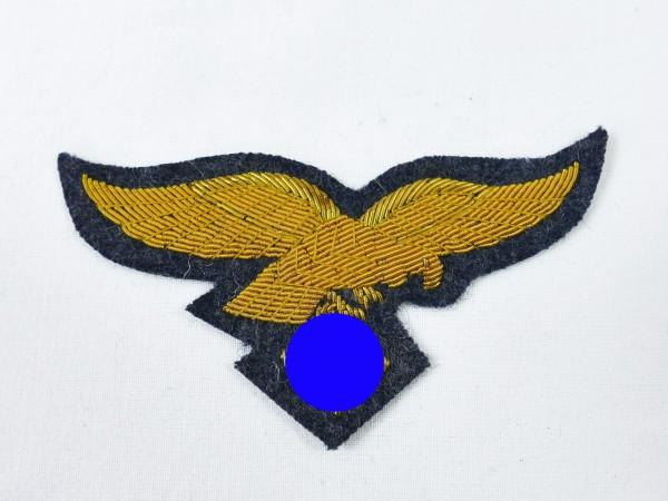 Brustadler Luftwaffe Fliegerbluse General mit Goldfaden gestickt