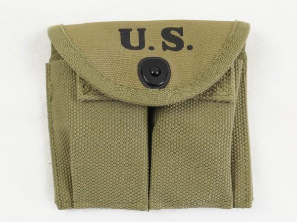 US ARMY WW2 M1 Carbine Doppel Magazintasche Khaki