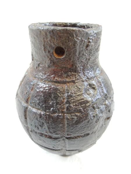 Handgranate M15 Citron-Fougass französisch WK 1 leerer Wurfkörper