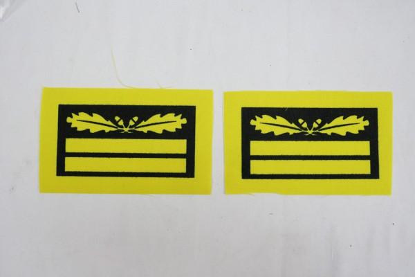 1x Paar WSS Gruppenführer und Generalleutnant Dienstgradabzeichen